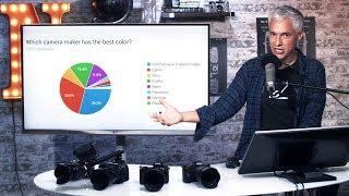 Best COLOR SCIENCE: Canon vs Nikon vs Sony vs Fujifilm
