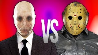 - ДЖЕЙСОН ВУРХИЗ VS СЛЕНДЕРМЕН СУПЕР РЭП БИТВА Slenderman ПРОТИВ Jason Voorhees Friday the 13th