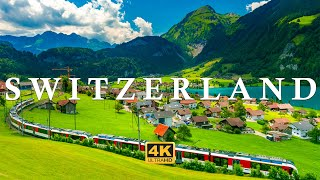 Switzerland 4K Video Ultra HD - Impressive Nature with Calming Music
