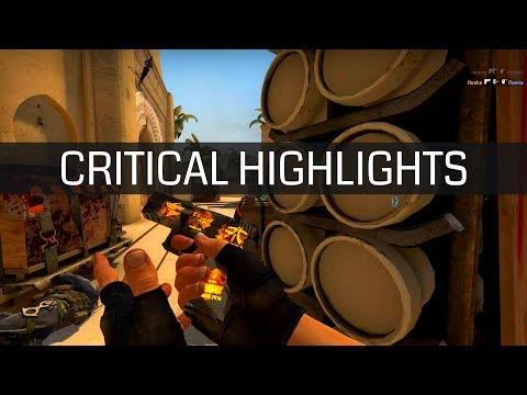 """Jogador profissional de CS:GO liga o """"modo deus"""" para resolver round - Critical Highlights"""