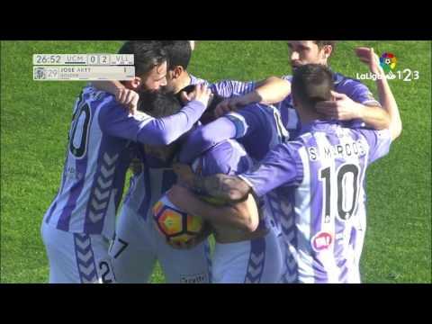 Great Goal of Arnáiz (0-2) UCAM Murcia vs Real Valladolid