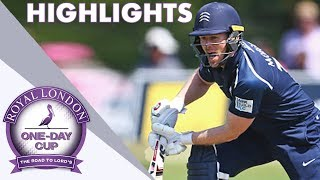 A Yard From Glory: Glamorgan & Middlesex In Final Ball Finish - RL One-Day Cup Highlights 2018