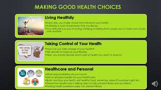 Making good health choices