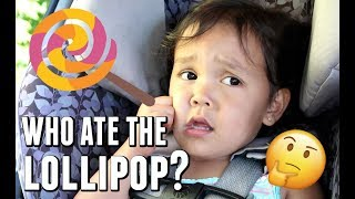 WHO ATE THE LOLLIPOP? - August 20, 2017 -  ItsJudysLife Vlogs