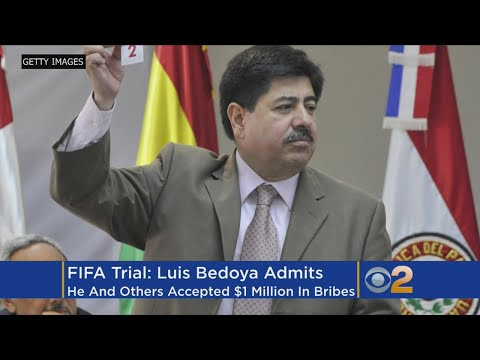 Witness: FIFA Soccer Officials Agreed To Take $1M In Bribes