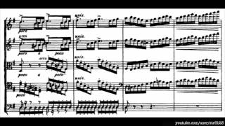 Tchaikovsky - Serenade for Strings Op 48, I - Andante non troppo (with score)