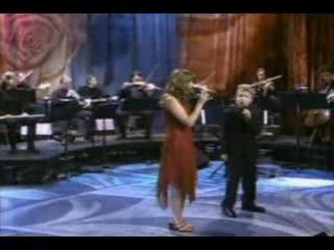 Charlotte Church dream a dream  duet Billi Gilman