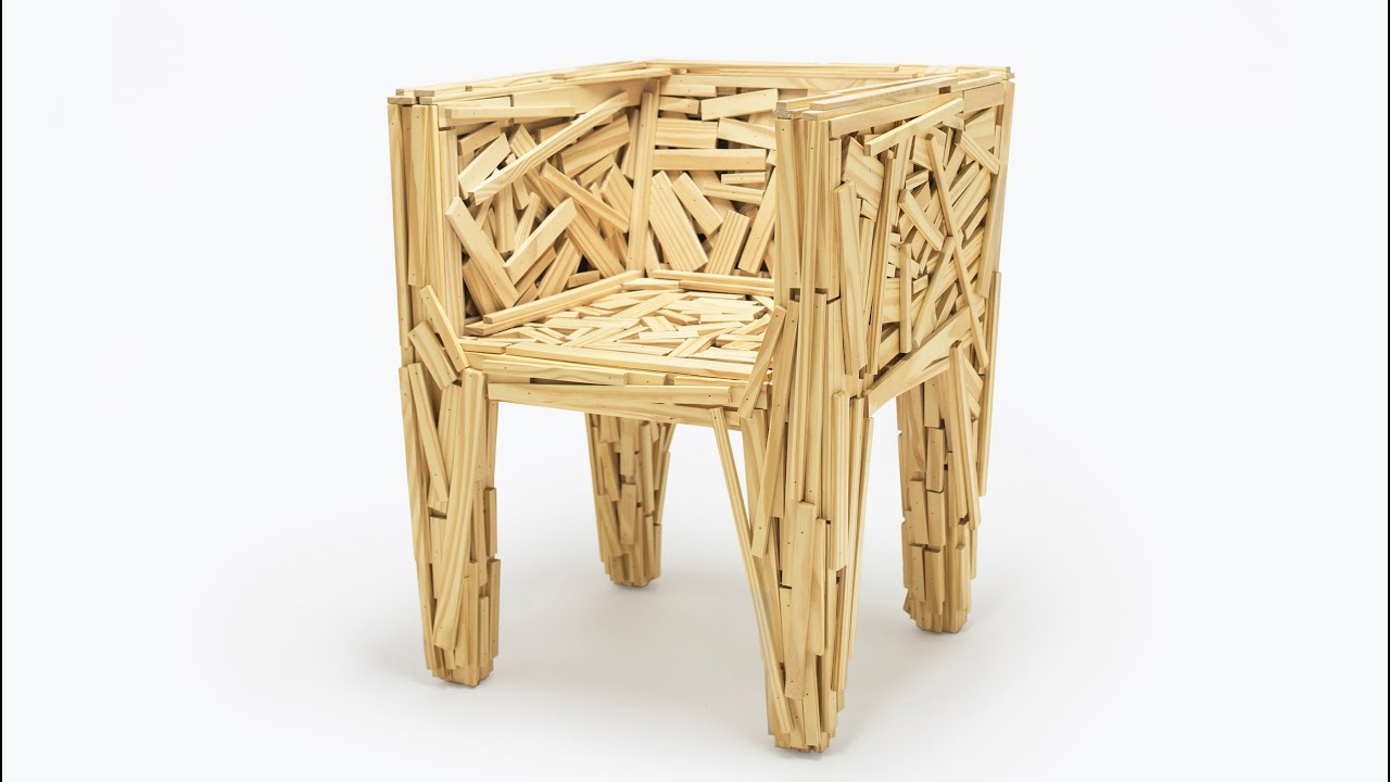Video Favela Chair By The Campana Brothers