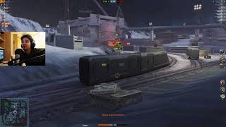 WoT Blitz - Она существует. Командная игра незнакомых людей- World of Tanks Blitz (WoTB)