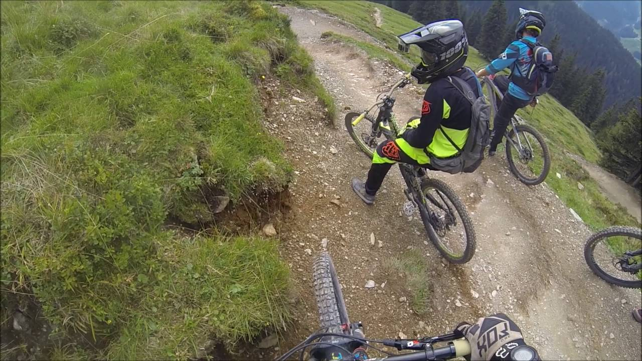 2016 Bikepark Saalbach Hinterglemm Hackelberg Trail Youtube
