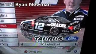 Nascar Thunder 2003: Paint Schemes