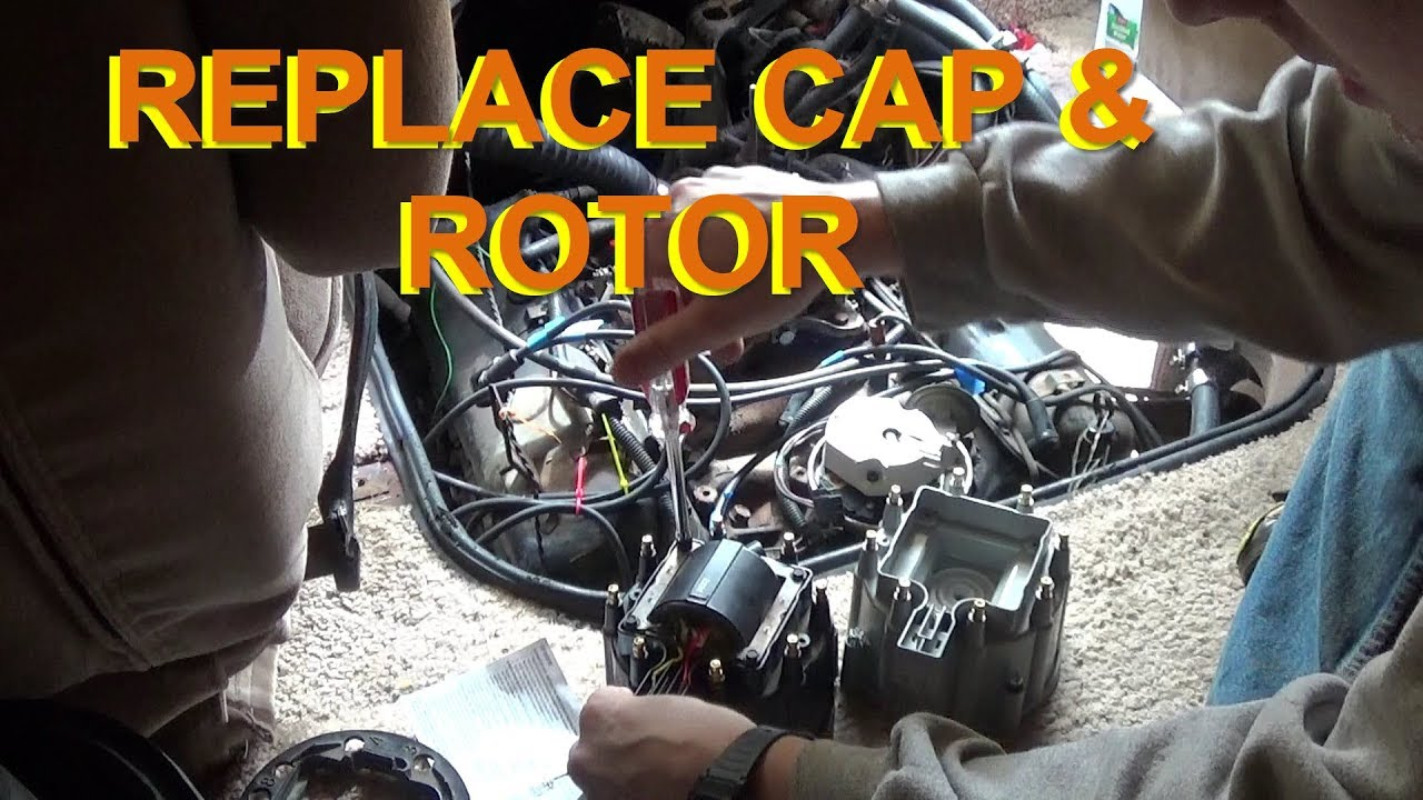 Replacing Chevy Hei Distributor Cap Rotor Youtube Coil