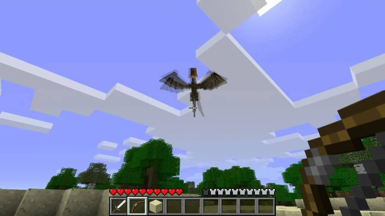 1 7 3] Skyrim Dragon Mob for Minecraft! [WIP][v0 1d] - WIP