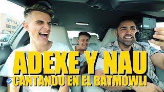 ADEXE Y NAU CANTANDO en el #BATMOWLI + IMPROVISACIÓN