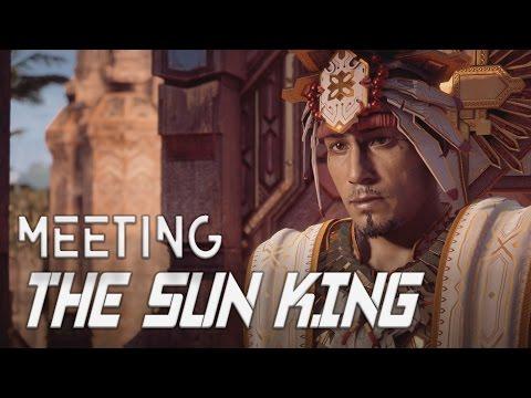 Horizon Zero Dawn: Meeting the Sun King