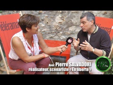 De l'écrit à l'écran   itw de Pierre SALVADORI pour En Liberté