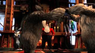 "RISE OF THE GUARDIANS - Official Film Clip - ""Jack Arrives at the Pole"""
