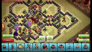 Clash of Clans Layouts - Town Hall 10 War Base Layout 55 (Jason) with 275 Walls