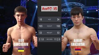ArmFC-18.Igor Goncharov vs Albert Ghazaryan HD