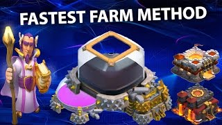 Clash Of Clans - Farm 150k Dark Elixir Every Day as a th10 th11, Massive loot, Max Heroes FAST