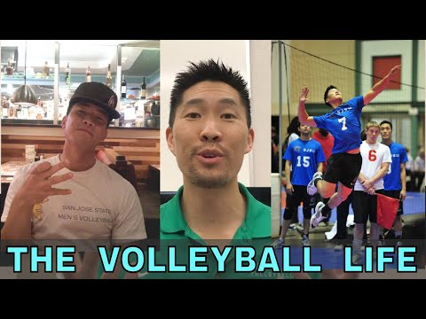 THE VOLLEYBALL LIFE (feat. Coach Donny, Josh Barrina, John, and Clay) - Volleyball Vlog
