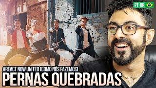 REAGINDO a Now United - Como Nós Fazemos ft. Badshah (Official Music Video) thumbnail