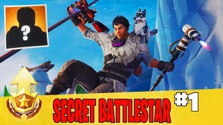 Secret Week 1 Battle Star Location Guide in Fortnite // FREE Battle Pass Tier in Season 7