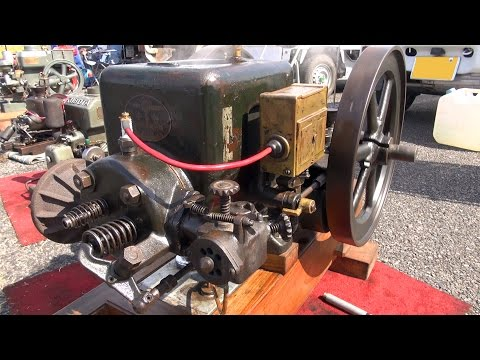Old Engines in Japan 1930s? CHITOSE Oil and Diesel-fuel Engine 2.5hp