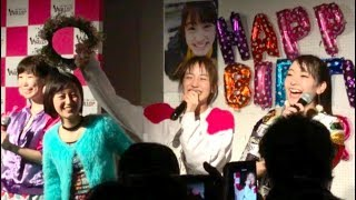 2017.3.5 押上wallop放送局。notall 田崎礼奈の生誕祭、MC部分です。