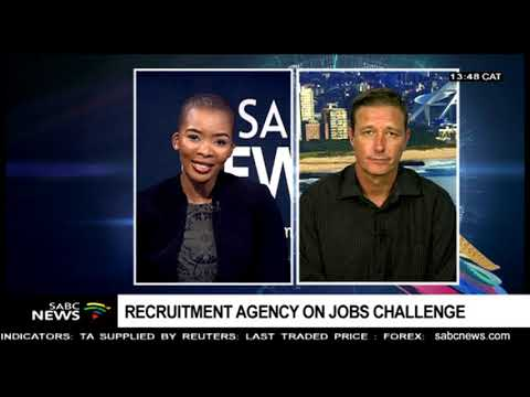 Recruitment Agency SA Reacts To Unemployment Figures: Sean Hughes