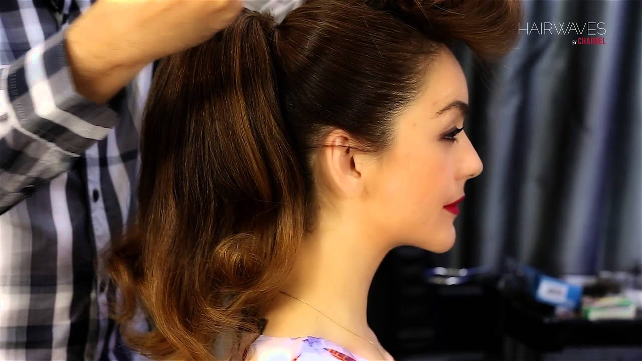 Simple Steps to make a charming hairstyle at home with the