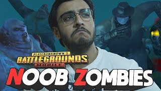 PUBG MOBILE LIVE: NOOB ZOMBIE MODE UPDATE | NEW UPDATE | RESIDENT EVIL 2
