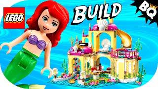 Lego Little Mermaid Ariel's Undersea Palace 41063 Disney Princess Flash Speed Build