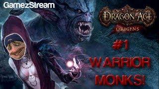 Audemus plays Dragon Age Origins - #1 ZOMBIE MONKS! Thumbnail