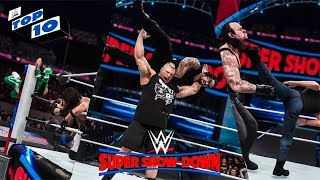 WWE 2K18 Super Showdown Top 10 Predictions!