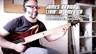 James Brown Livin' In America - Bass Cover