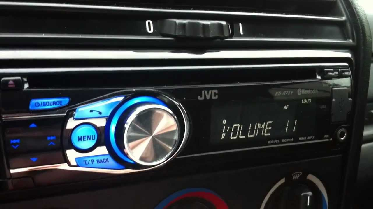 Cd Player Wiring Diagram Jvc Kd R711 Youtube
