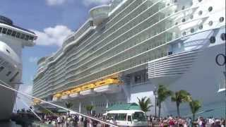 Tour of the world's most luxurious cruise ship the Oasis of the Seas thumbnail