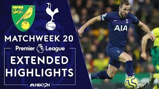 Norwich City V. Tottenham   Premier League Highlights   12/28/19   Nbc Sport