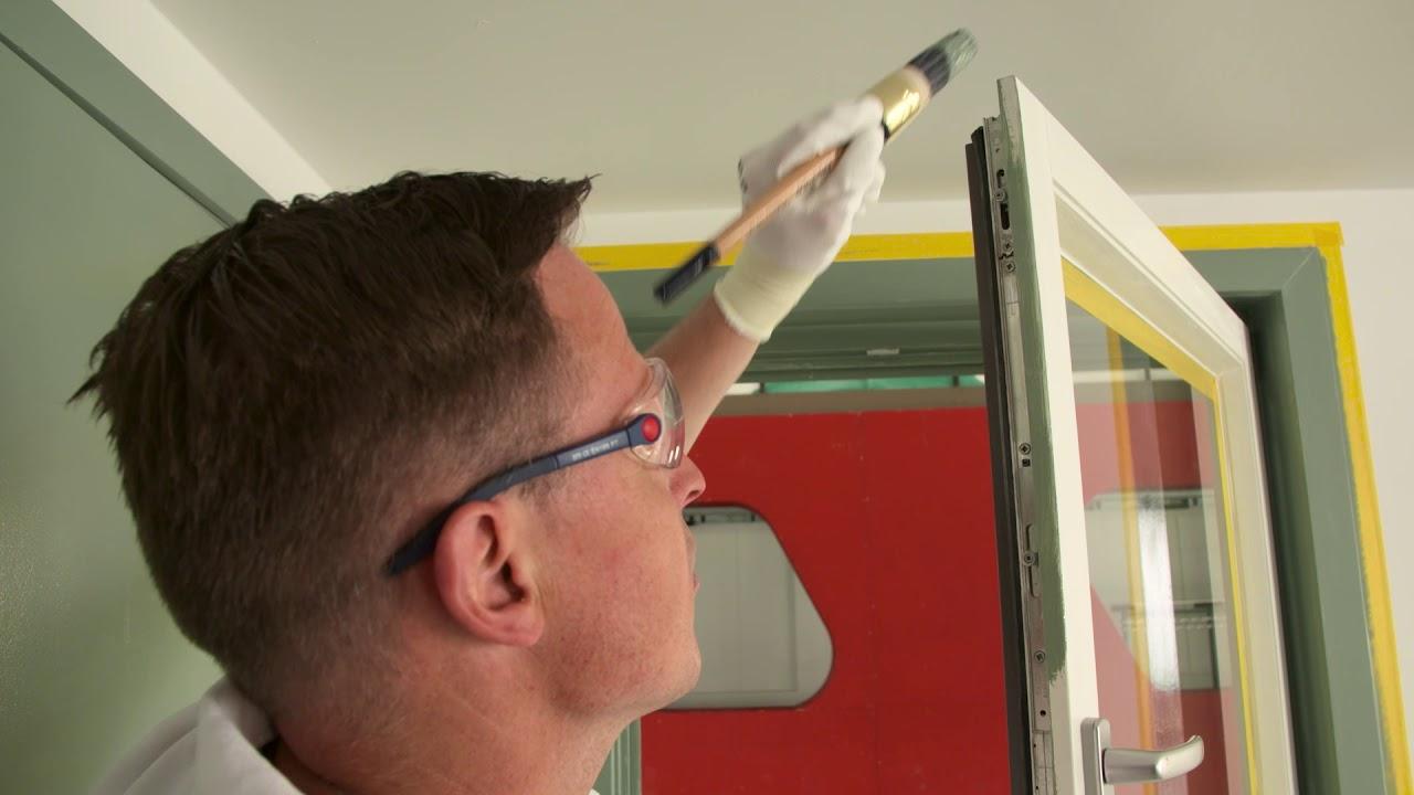 Peindre Fenetre Pvc En Gris comment peindre des fenêtres à l'intérieur - indice de peinture