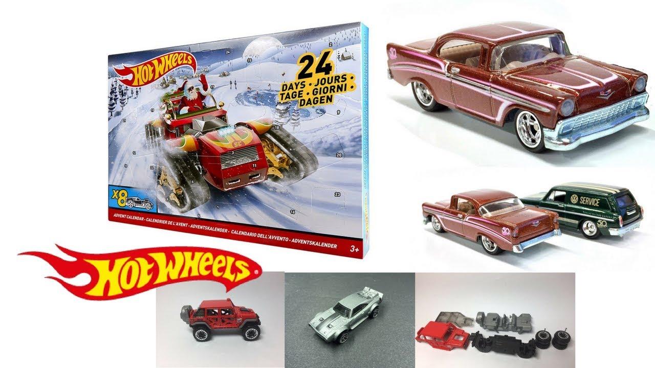 /Calendario dell Avvento 2016 Mattel Hot Wheels dmh53/