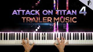 Attack on Titan Season 4 Trailer Music / Piano Cover (Final Season)
