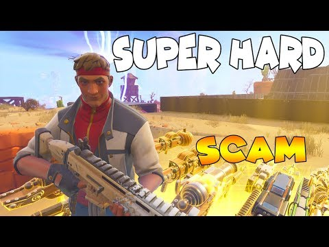 0% of People Can Do This SCAM!!🤫🤐 (Scammer Get Scammed) In Fortnite Save The World