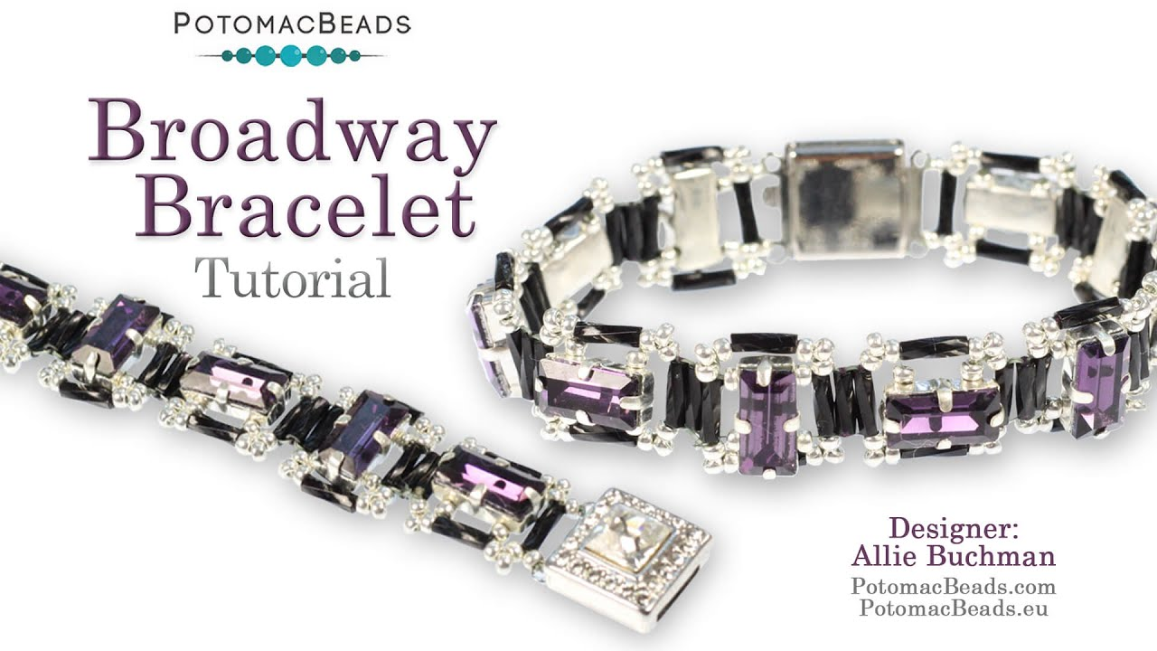 Broadway Bracelet (DIY Tutorial) - YouTube