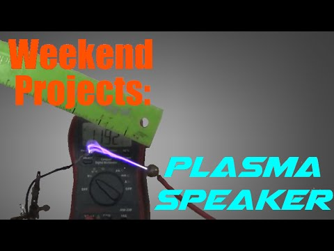 Weekend Projects: Make a 100KV Singing Arc Plasma Speaker Flyback Driver!