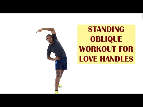 12-Minute Standing Oblique Workout for Love Handles