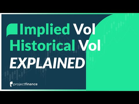 Implied Volatility Vs. Historical Volatility