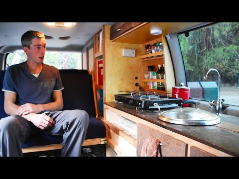 Engineer shows how to convert a van in 7 days and a $1000 budget