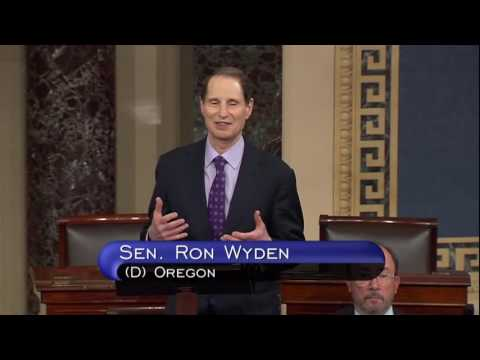Wyden; Asks Senate To Pass Family First Act, Senate Republicans Object
