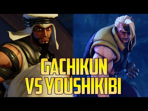 SFV ▰ Gachikun (Top 3 Rashid) Vs Youshikibi FT5【1080p60 First To 5】Street Fighter V / 5